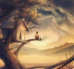 Beautiful Landscapes Digital Art by Niken Anindita - Fine Art and You - Painting| Digital Art| Illustration| Portrait