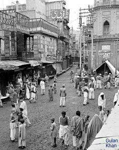 Old photo of Karachi Sindh Pakistan