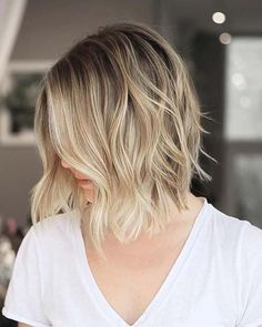 23 Ways to Rock Brown Hair with Blonde Highlights 23 W… - delfewe. Brown Hair Dyed Blonde, Blonde Hair Types, Blonde Highlights Short Hair, Cool Blonde Hair Colour, Brown Ombre Hair, Purple Hair, Hair Color, Hair Lights, Light Hair