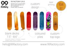 99 Factory Simple Skateboard Catalogue 2015  #99factory #european #skateboard #longboard #manufacturer #catalog #2015 #blank #design #laser #coloured #toplogo