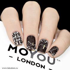 Лак для стемпинга MoYou London White Knight - купить с доставкой по Москве, CПб и всей России.