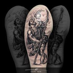 St. Christopher Saint Christopher tattoo - Steve Toth