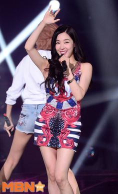 150714 SNSD - Party + No1 @ SBS The Show : Tiffany