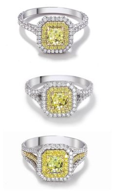 Which Forevermark Golden Diamond engagement ring do you fancy? Take your pick