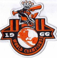 Baltimore Orioles 1966 World Series Champs