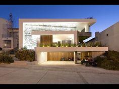 Diseño de moderna casa de dos plantas con sótano - YouTube