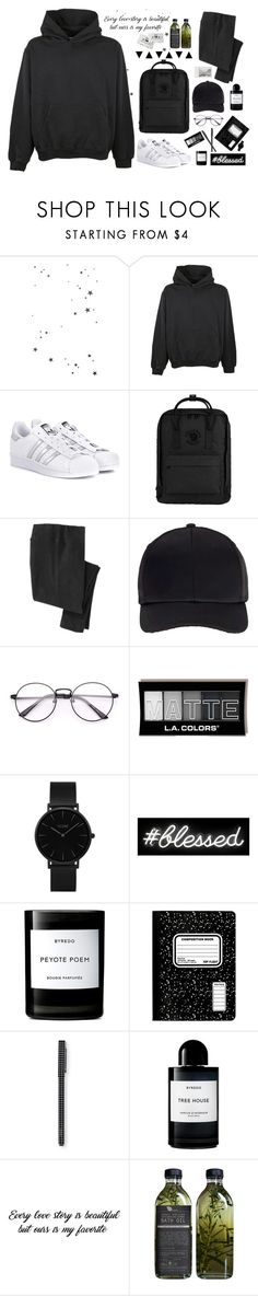 """SELECTION // 215"" by kareeenn ❤ liked on Polyvore featuring MSGM, adidas Originals, Fjällräven, Miss Selfridge, CLUSE, Oliver Gal Artist Co., Byredo, CASSETTE and Polaroid"