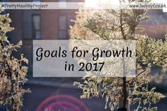 Goals for Growth in 2017