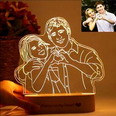Personalized Gift Customize Your Personalized Gift-Custom Photo Lamp Photo 3d, Photo Lamp, Customized Gifts For Boyfriend, Gifts For Your Boyfriend, Boyfriend Ideas, Gifts For Boyfriend Long Distance, 3d Light, Personalized Photo Gifts, 3d Laser