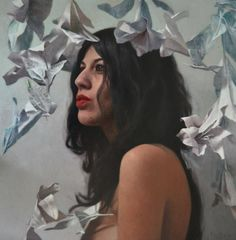 Maria and the flying flowers Eloy Morales WOW, amazing! a partir de la cabeza/about head - eloy morales web Eloy Morales, Muse, Flying Flowers, Art For Art Sake, Figure Painting, Artist At Work, Drawing S, Contemporary Art, Graffiti