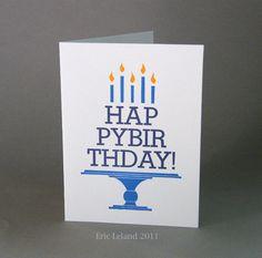 """Happy Birthday Card """"Birthday Cake"""""""