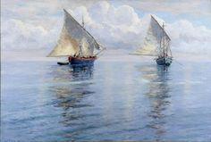 Menci Klement Crnčić - Bonaca - Calm sea (1906.) Menci Klement Crnčić (1865-1930)