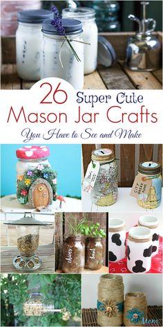 Diy crafts to make for kids mason jars 16 Ideas Diy Crafts For Teen Girls, Crafts For Kids To Make, Diy Projects To Try, Crafts To Sell, Fair Projects, Sell Diy, Kids Diy, Craft Projects, Mason Jar Gifts
