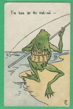 Electronics, Cars, Fashion, Collectibles, Coupons and Mr Toad, Frog And Toad, Vintage Cards, Vintage Postcards, Frog Illustration, Frog Pictures, Frog Art, Vintage Book Covers, Kermit The Frog