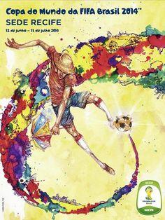 93f66a060a Cartaz da Copa 2014 - sede-recife Copa Brasil 2014