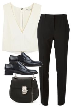 """""""Untitled #3085"""" by bubbles-wardrobe ❤ liked on Polyvore featuring Alice + Olivia, Acne Studios and Chloé"""