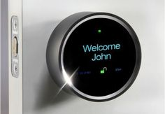Goji's Smart Lock snaps pictures, welcomes you by name