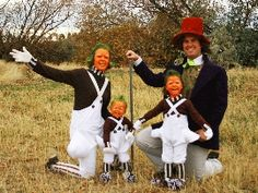 20 Family Halloween Costume Ideas (Charlie and the Chocolate Factory)