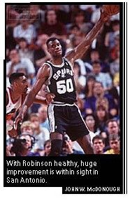"""The Admiral"" David Robinson...My intro to the Spurs"