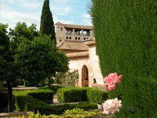 Visita a los Jardines de la Alhambra de Granada