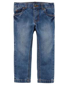 Baby Boy 5-Pocket Carpenter Jeans   Carters.com