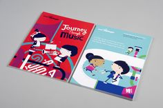 BBC Philharmonic: Journey Through Music print. Collaboration with Spencer Wilson.