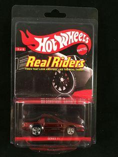 2012 Hot Wheels Redline Club RLC Series 11 Real Riders 85 CHEVY CAMARO IROC Z #HotWheels #Chevrolet