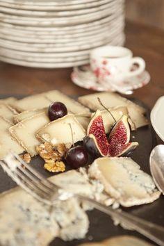 Figs + Cheese + Walnuts + Cherries