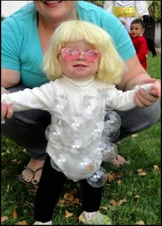Baby Gaga Halloween Costume. lol