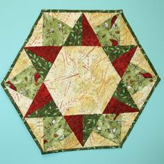 Hexagon Table Topper Or Tree Skirt