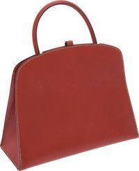 Luxury Accessories:Bags, Hermes Brick Calf Box Leather Dalvy Bag. ...