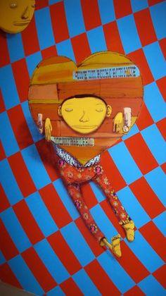 Os Gemeos. #osgemeos http://www.widewalls.ch/artist/os-gemeos/