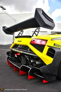 Lamborghini Gallardo. Not sure if enough downforce...