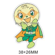 50pcs 38*26MM Japanese Cartoon Character Flatback Resin Kawaii Planar Resin DIY Crafts For Mobile Phone Decoration Accessories