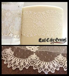 1000 images about wedding cake lace stencils on for Lace templates for cakes