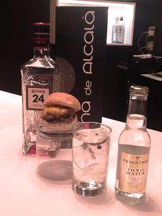 Una combinación especial: gin burger