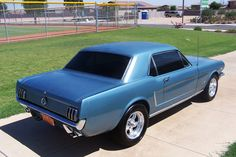1965 Ford Mustang Coupe  http://www.classicautoworx.com