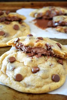 Okay, this officially one of my favorite chocolate chip cookie recipes EVER. It might even be number 1, because I can't think of another c...