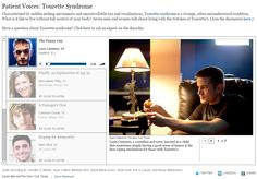 Listen to the stories of those affected by Tourette's syndrome