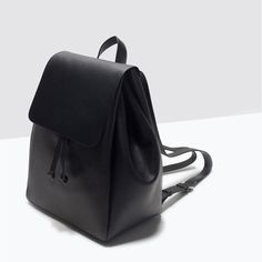 BACKPACK WITH FOLDOVER FLAP-Handbags-TRF-SHOES & BAGS | ZARA United States