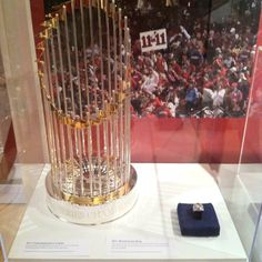 2011 World Series Trophy and Ring