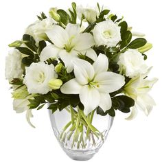 Search for the ftd white elegance bouquet by vera wang cut glass Order Flowers, Flowers Online, Send Flowers, White Floral Arrangements, Flower Arrangements, Table Arrangements, White Flowers, Beautiful Flowers, White Tulip Bouquet