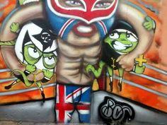 Evento com diversas atrações tem como base a realização do graffiti nos muros da rua Jacarandá Rosa, Jardim Maia, zona leste. A entrada é Catraca Livre.