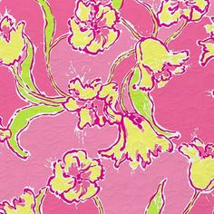 Lilly Pulitzer floral print