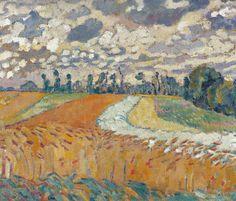 Fields of Wheat, 1918.  Louis Valtat