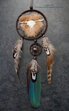 Dreamcatcher Capteur de rêves plumes par Tendancesethniques