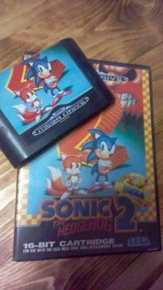Sonic the Hedgehog 2 for Sega Mega Drive - 16bit cartrige