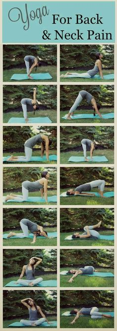 If you suffer from back or neck pain, give some of these yoga poses a try . Thes… If you suffer from back or neck pain, give some of these yoga poses a try . These poses are simple to do, even if you have never done yoga before. Fitness Workouts, Yoga Fitness, Fitness Motivation, Health Fitness, Yoga Workouts, Fitness Quotes, Exercise Motivation, Fitness Diet, Motivation Cleaning