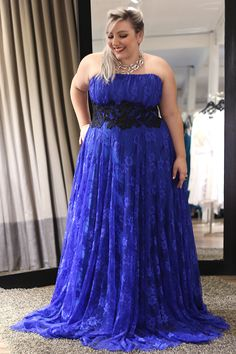 vestido de festa plus size para formatura 3