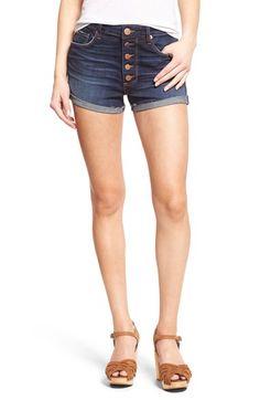 STS Blue 'Ashley' Cuffed High Rise Denim Shorts (Surf Side Beach)